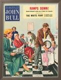 John Bull, Launderettes Washing Machines Appliances Magazine, UK, 1954 Posters