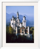 Neuschwanstein Castle, Fussen Bavaria, South Germany Framed Photographic Print by Nigel Francis