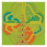 Lime Green Zuca Fantasy Giclee Print by Belen Mena