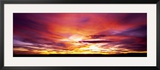 Sunset, Canyon De Chelly, Arizona, USA Framed Photographic Print by Panoramic Images 