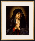 The Madonna in Sorrow Framed Giclee Print by Giovanni Battista Salvi da Sassoferrato