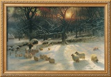 The Shortening Winter's Day Framed Giclee Print by Joseph Farquharson