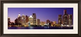 Dusk Detroit, Michigan, USA Framed Photographic Print by Panoramic Images 
