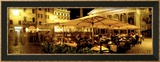 Cafe, Pantheon, Rome Italy Gerahmter Fotografie-Druck von  Panoramic Images