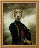 The Marquis Framed Giclee Print by Thierry Poncelet
