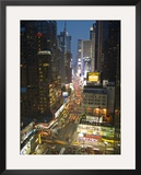 Broadway Looking Towards Times Square, Manhattan, New York City, USA Framed Photographic Print by Alan Copson