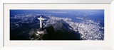 Aerial, Rio De Janeiro, Brazil Framed Photographic Print by  Panoramic Images