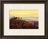 Tuscan Sunrise Prints by Max Hayslette
