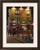 The Temple Bar Pub, Temple Bar, Dublin, County Dublin, Republic of Ireland (Eire) Framed Photographic Print by Sergio Pitamitz