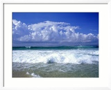 Beach, Barra Da Tijuca, Rio de Janeiro Brazil Gerahmter Fotografie-Druck von Silvestre Machado