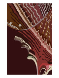 Cleo Wing Heartbeat Giclee Print by Belen Mena