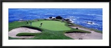 Golfers Pebble Beach, California, USA Photographie encadrée par Panoramic Images
