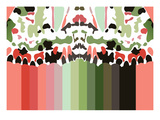 Iggy's Rainbow Giclee Print by Belen Mena