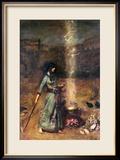 Der magische Kreis Gerahmter Giclée-Druck von Sir Lawrence Alma-Tadema