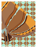 Retro Pitt Giclee Print by Belen Mena