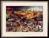 The Triumph of Death, circa 1562 Gerahmter Giclée-Druck von Pieter Bruegel the Elder