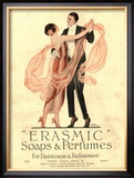 Erasmic Soap Perfume, Evening-Dress Dancing, UK, 1920 Art