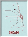 Chicago Posters by  Line Posters