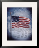 The Declaration of Independence Framed Giclee Print