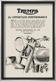 Triumph of Effortless Performance Prints