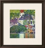 Kirche in Unterach Am Attersee, Church in Unterach on Attersee Framed Giclee Print by Gustav Klimt