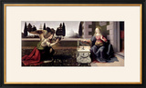 Annunciation, 1472-75 Framed Giclee Print by  Leonardo da Vinci