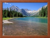 Lake Josephine with Grinnell Glacier and the Continental Divide, Glacier National Park, Montana Framed Photographic Print by Jamie & Judy Wild