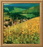 Riquewihr Framed Giclee Print by Philip Craig