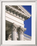 Detail of State Capitol Building, Sacramento, CA Framed Photographic Print by Shmuel Thaler