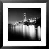Golden Gate Study Gerahmter Fotografie-Druck von Josef Hoflehner