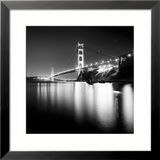 Golden Gate Study Framed Photographic Print by Josef Hoflehner