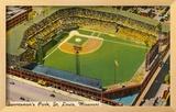 Sportsman's Park, St. Louis, Missouri Framed Giclee Print