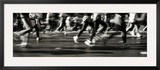Marathon, New York City, New York State, USA Framed Photographic Print by Panoramic Images