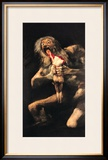 Saturn Devouring One of His Children, 1821-23 Framed Giclee Print by Francisco de Goya