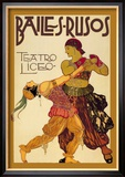 Bailes Rusuos Posters by Leon Bakst
