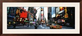 Traffic on a Road, Times Square, New York, USA Framed Photographic Print by  Panoramic Images