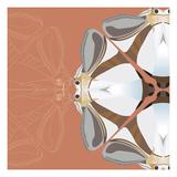 Moth Meditation Giclee Print by Belen Mena