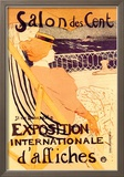 Salon des Cent: Exposition Internationale d&#39;Affiches Prints by Henri de Toulouse-Lautrec