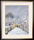Snow at Louveciennes, 1878 Framed Giclee Print by Alfred Sisley