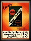 Lucky Strike, Cigarettes Smoking, USA, 1930 Art