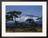 Kenya, Mount Kilimanjaro Framed Photographic Print by Michele Burgess