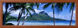 Bora Bora, Tahiti, Polynesia Framed Photographic Print by  Panoramic Images