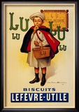 Lu Lu Biscuits Posters by Firmin Etienne Bouisset