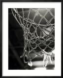 Close-up of a Basketball Net Gerahmter Fotografie-Druck