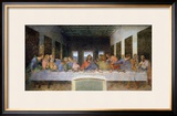 The Last Supper, 1495-97 Framed Giclee Print by Leonardo da Vinci 