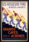 Les Meilleurs Vins Posters