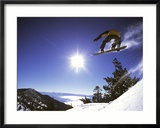 Diamond Peak, Nevada, USA Gerahmter Fotografie-Druck
