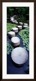 Shrine Garden, Kyoto, Japan Gerahmter Fotografie-Druck von  Panoramic Images