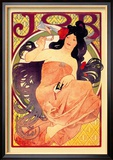 Job Print by Alphonse Mucha