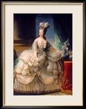 Marie Antoinette (1755-93) Queen of France, 1779 Gerahmter Giclée-Druck von Elisabeth Louise Vigee-LeBrun